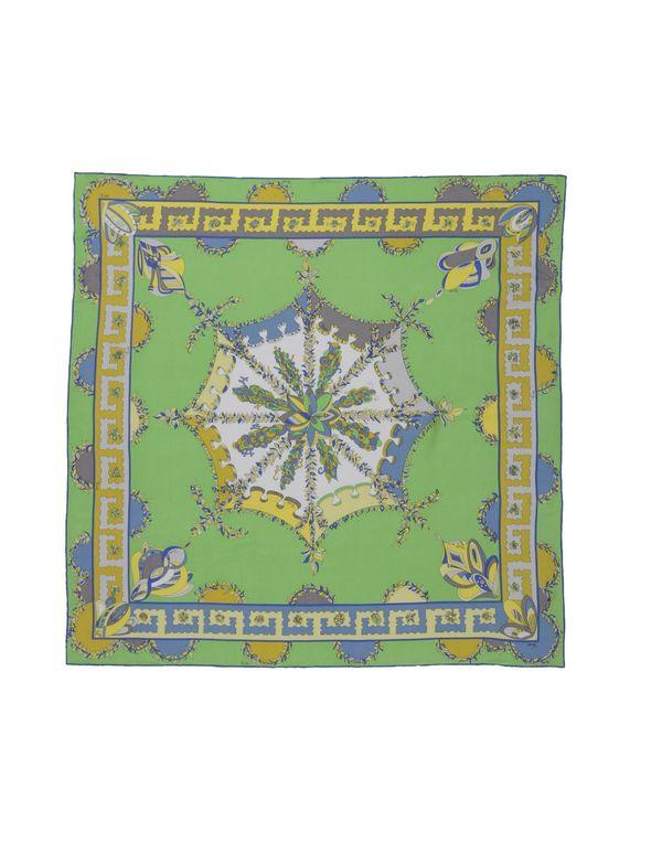 浅绿色 EMILIO PUCCI 方巾