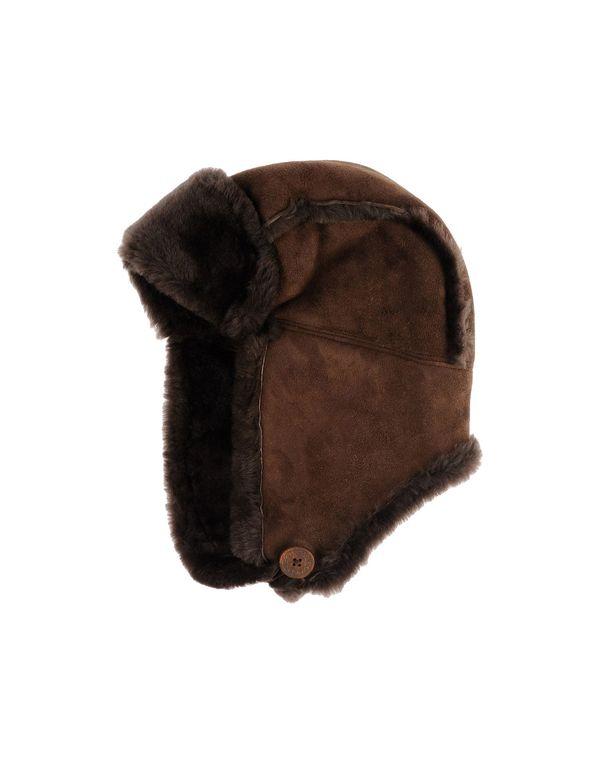 深棕色 UGG AUSTRALIA 帽子