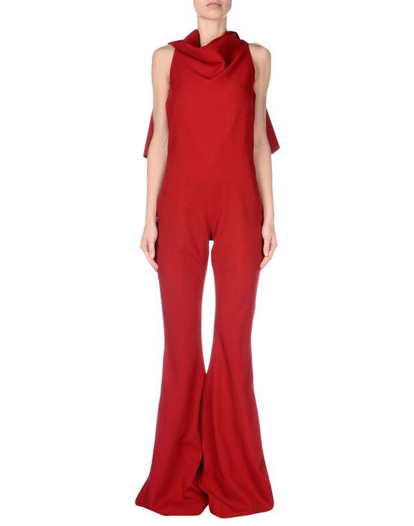 红色 GARETH PUGH 连身长裤