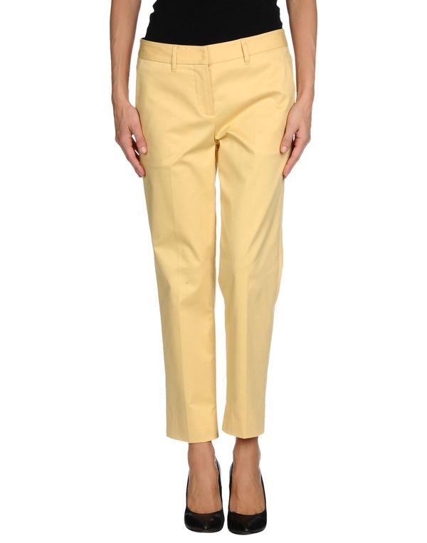 黄色 MIU MIU 裤装