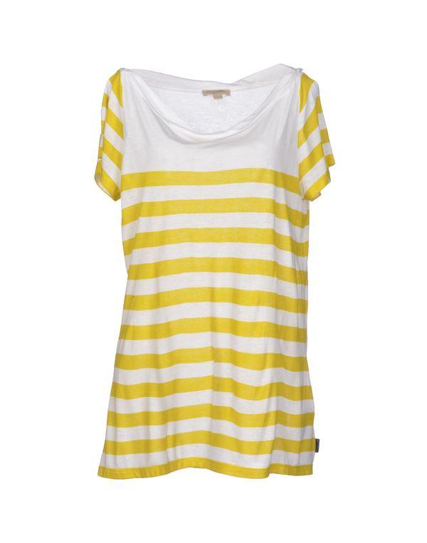 黄色 BURBERRY BRIT T-shirt