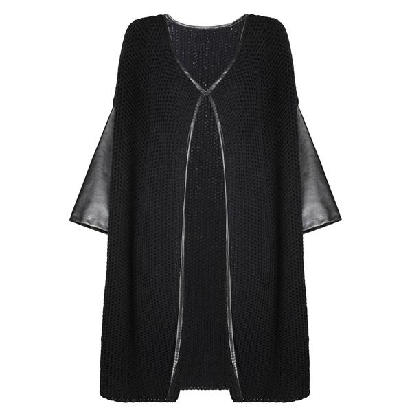 MANGO芒果2013冬季系列黑色针织衫