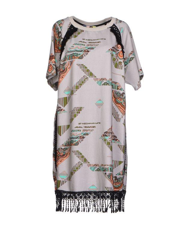 灰色 MSGM 短款连衣裙