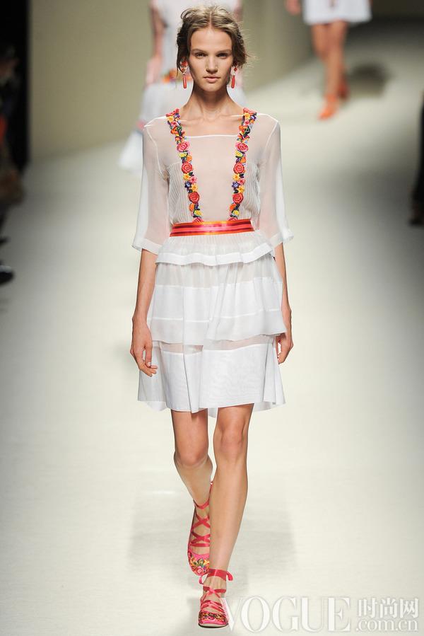 Alberta Ferretti2014春夏时装秀