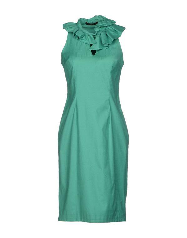 绿色 REGGIANI 短款连衣裙