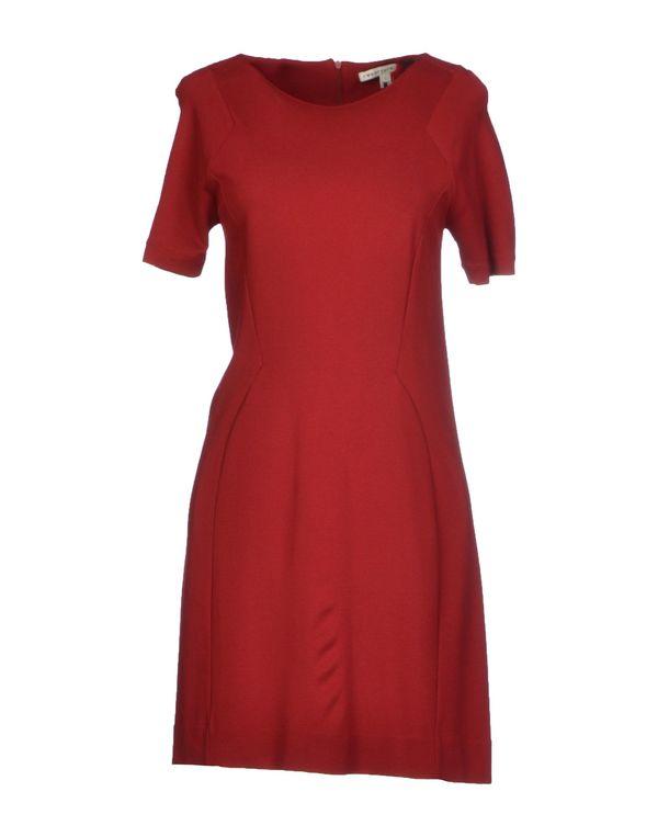 砖红 TWENTY8TWELVE 短款连衣裙