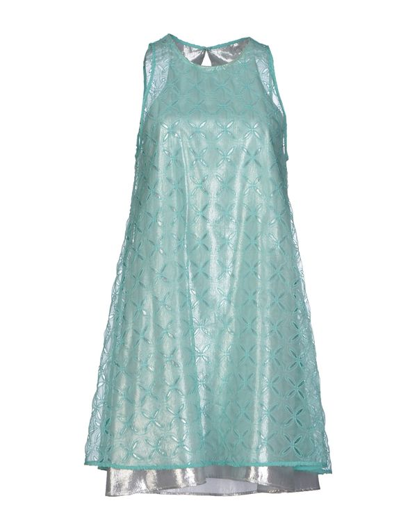 浅绿色 SPACE STYLE CONCEPT 短款连衣裙