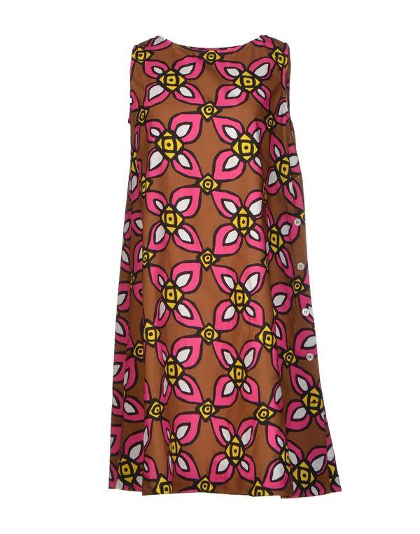 玫红色 ASPESI 短款连衣裙