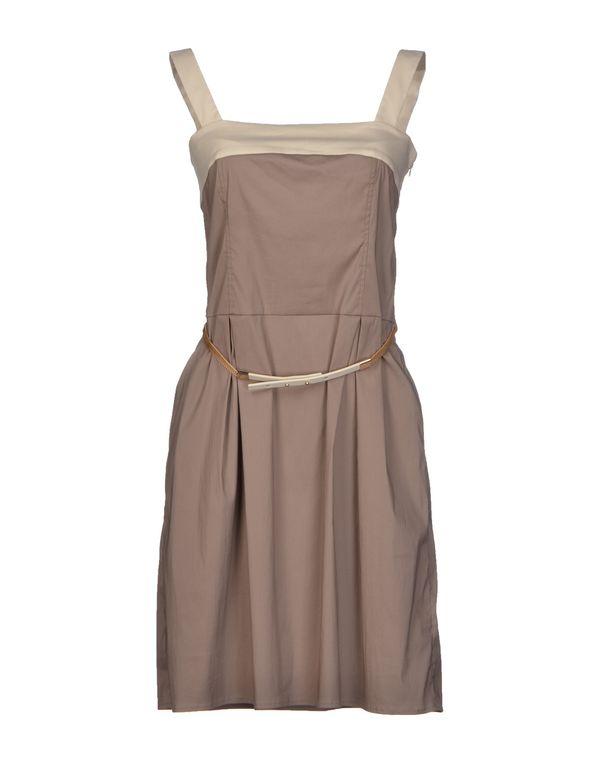 浅棕色 LIU •JO 短款连衣裙