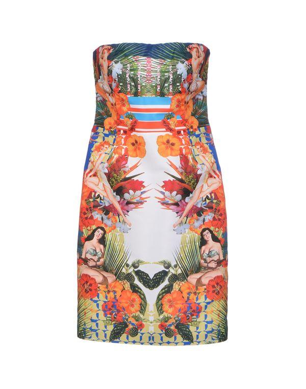 橙色 PINKO 短款连衣裙