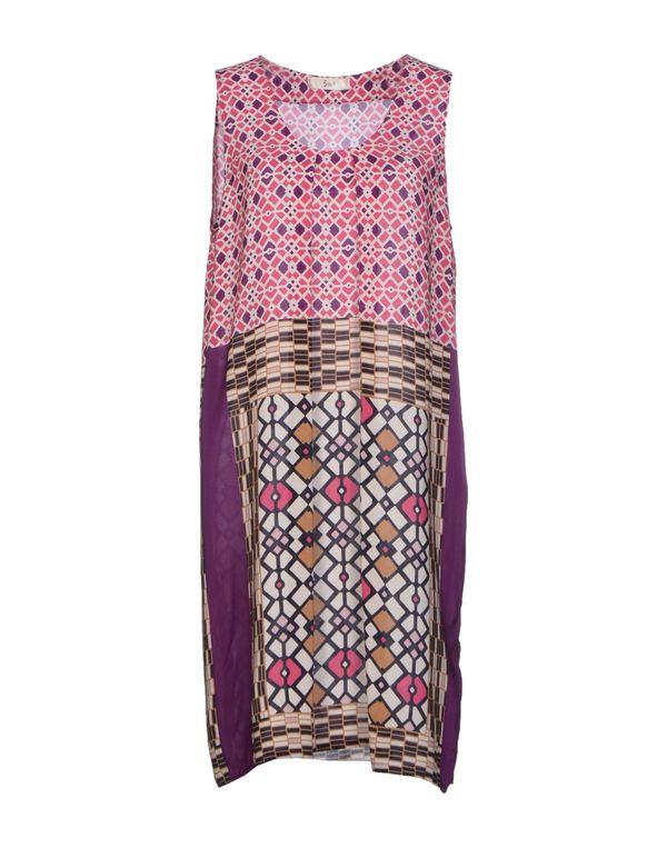浅紫色 SUOLI 短款连衣裙