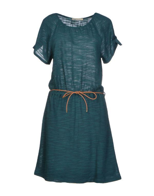 孔雀绿 SESSUN 短款连衣裙