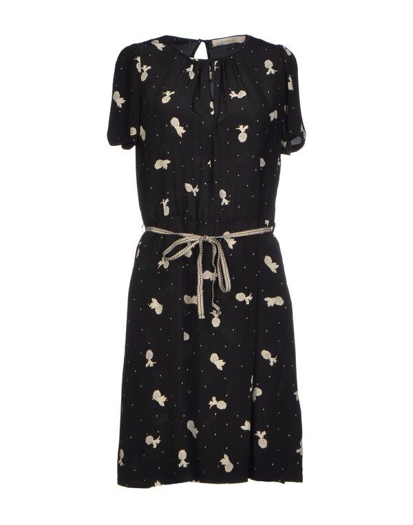黑色 SESSUN 短款连衣裙