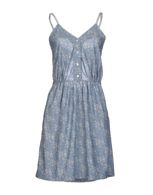 蓝色 SESSUN 短款连衣裙