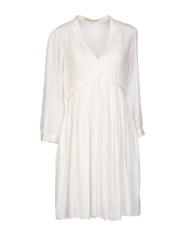 白色 VANESSA BRUNO 短款连衣裙