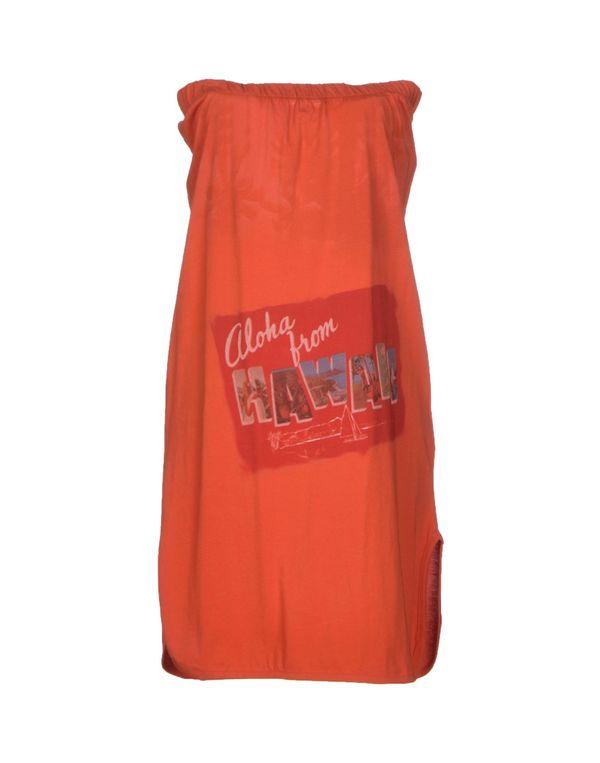 铁锈红 PINKO GREY 短款连衣裙