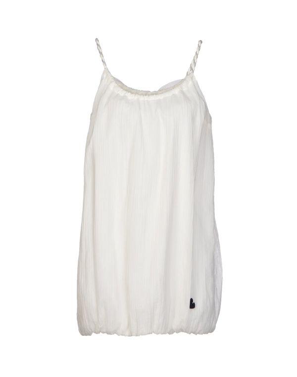 白色 DUCK FARM 短款连衣裙
