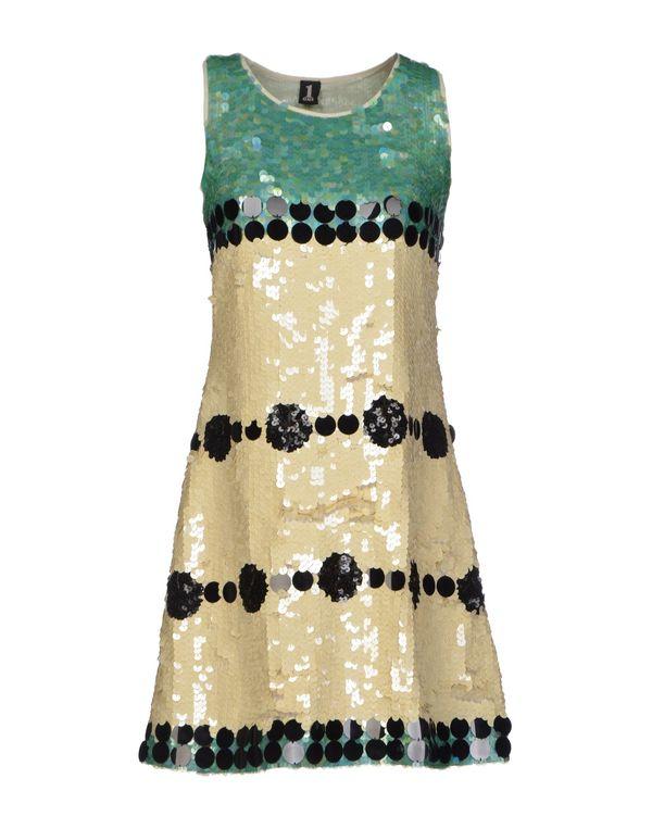 米色 1 ONE 短款连衣裙
