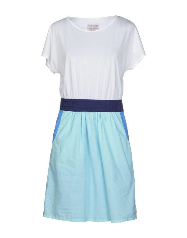 白色 VINTAGE 55 短款连衣裙