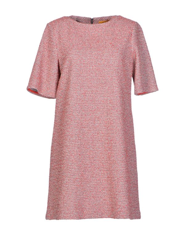 红色 ALICE+OLIVIA 短款连衣裙