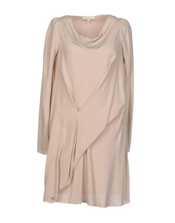 浅粉色 VANESSA BRUNO 短款连衣裙