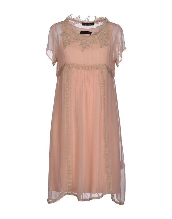 粉红色 TWIN-SET SIMONA BARBIERI 短款连衣裙