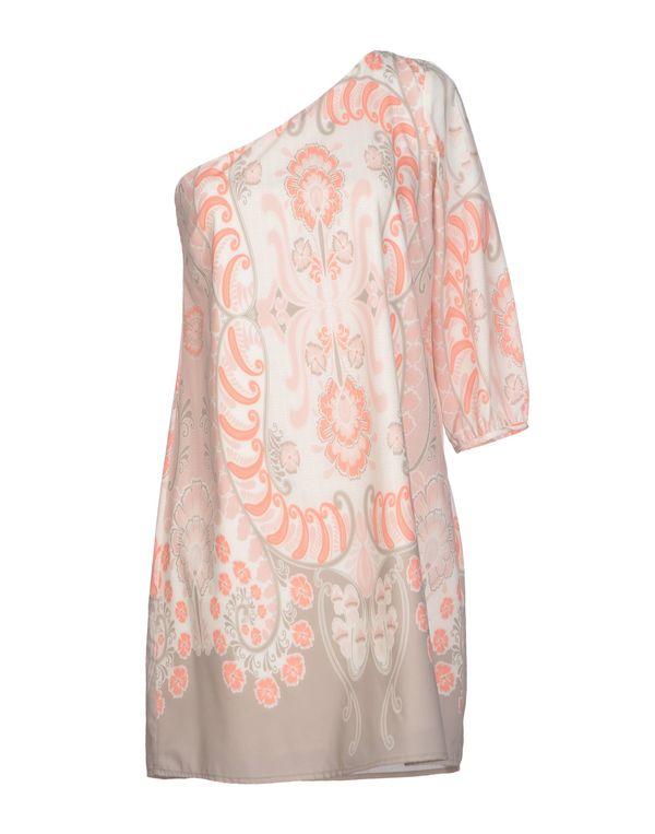 浅粉色 ATELIER FIXDESIGN 短款连衣裙