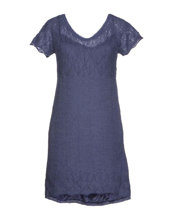 紫色 SCERVINO STREET 短款连衣裙