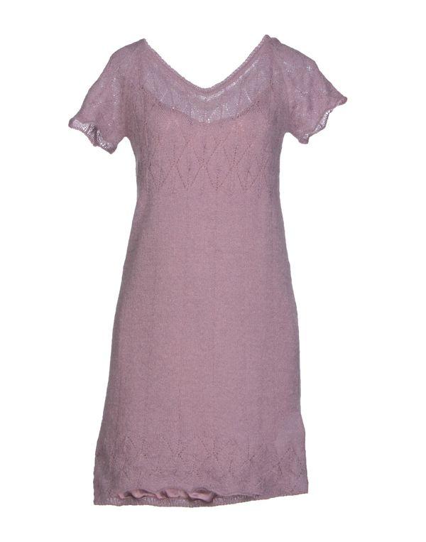 浅紫色 SCERVINO STREET 短款连衣裙