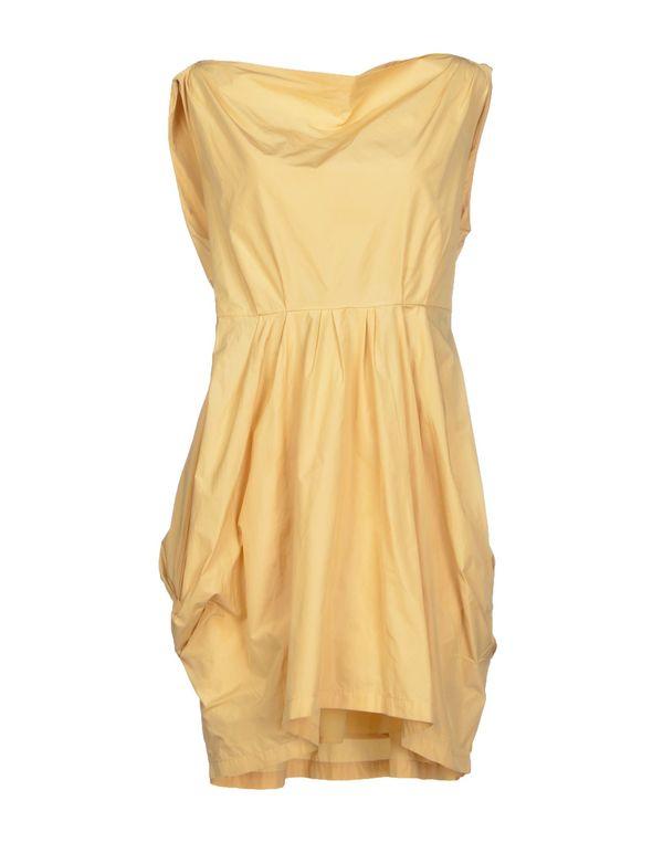黄色 TWIN-SET SIMONA BARBIERI 短款连衣裙