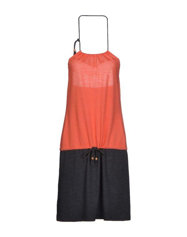 珊瑚红 IRIEDAILY 及膝连衣裙