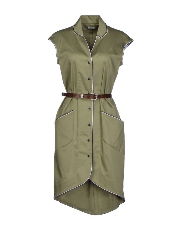 军绿色 ALEXIS MABILLE 短款连衣裙