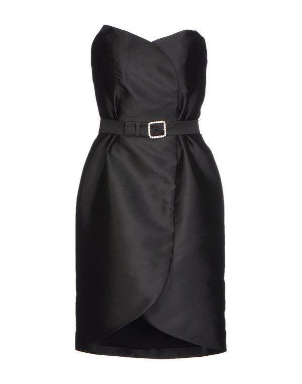 黑色 ALEXIS MABILLE 短款连衣裙