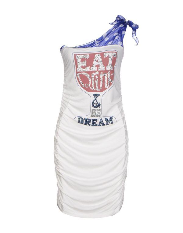 白色 PIANURASTUDIO 短款连衣裙