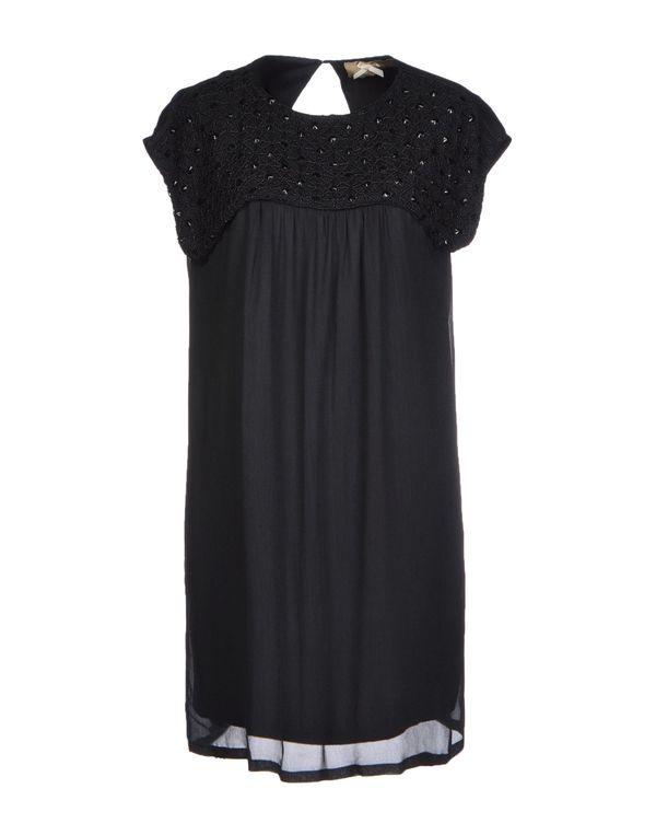 黑色 ATELIER FIXDESIGN 短款连衣裙