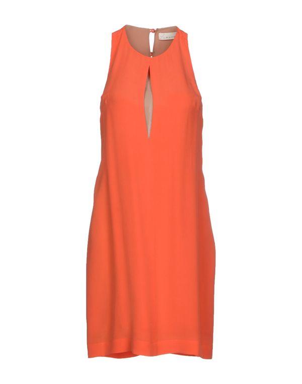 橙色 ALYSI 短款连衣裙