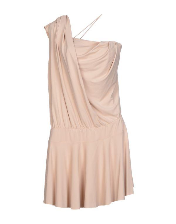 沙色 PINKO BLACK 短款连衣裙