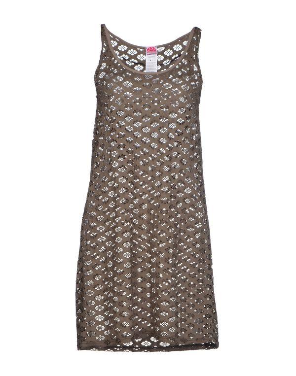 铅灰色 SUNDEK 短款连衣裙