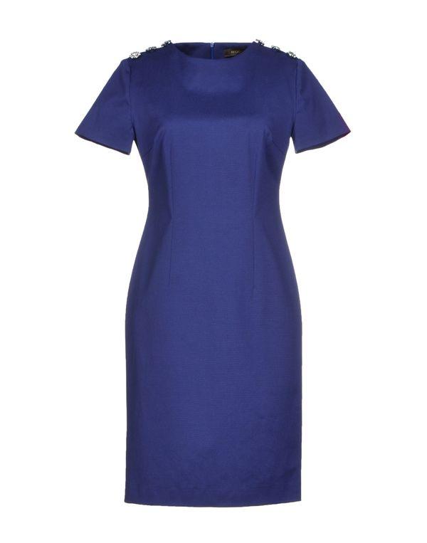 蓝色 REGGIANI 短款连衣裙