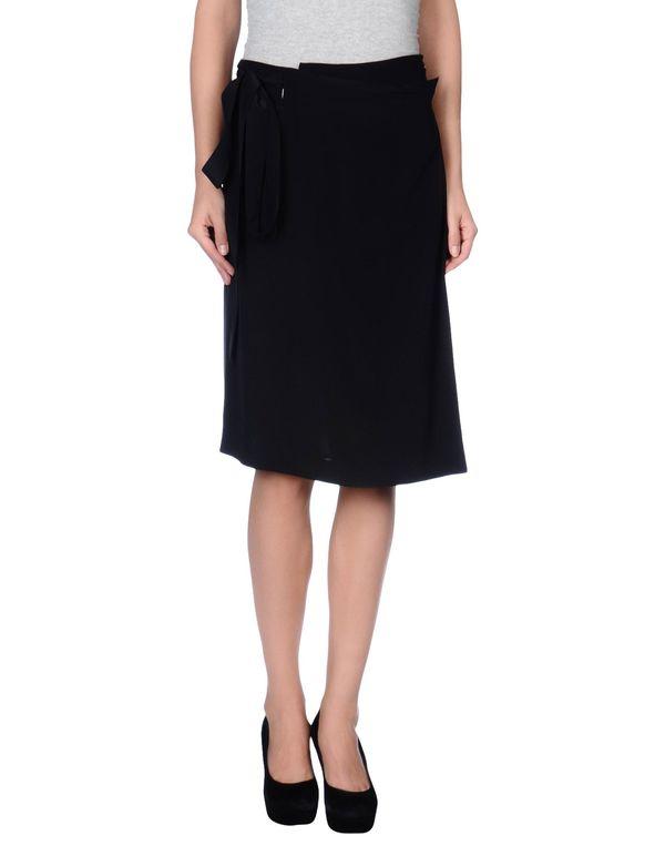 黑色 MAISON MARTIN MARGIELA 4 及膝半裙