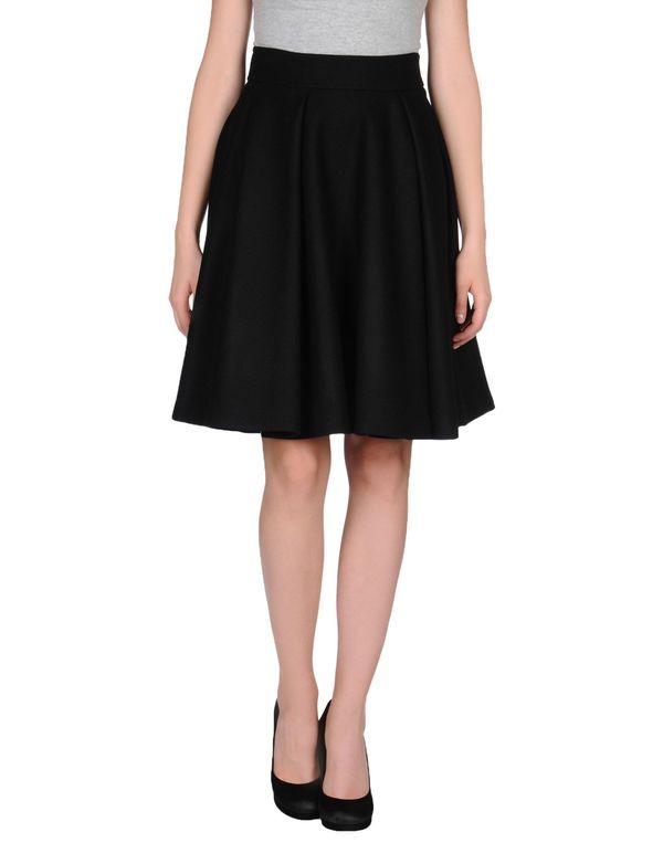黑色 CO|TE 及膝半裙