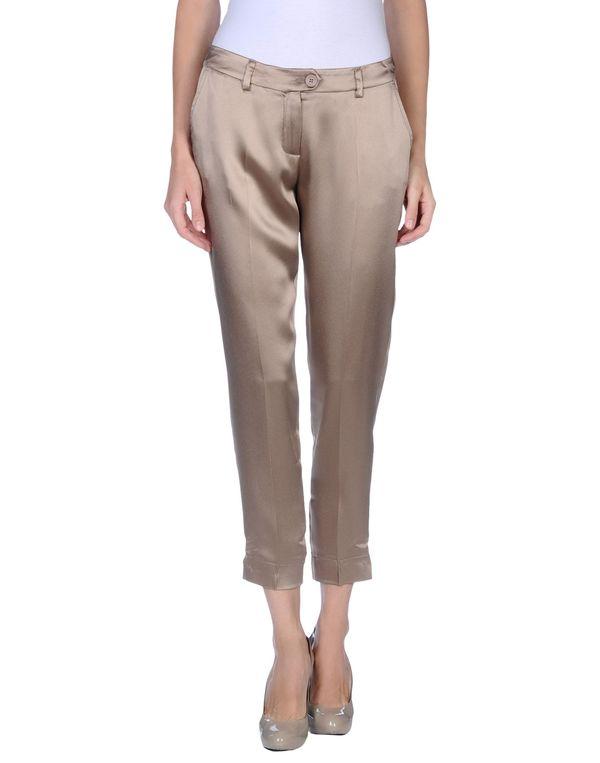 沙色 SCERVINO STREET 裤装