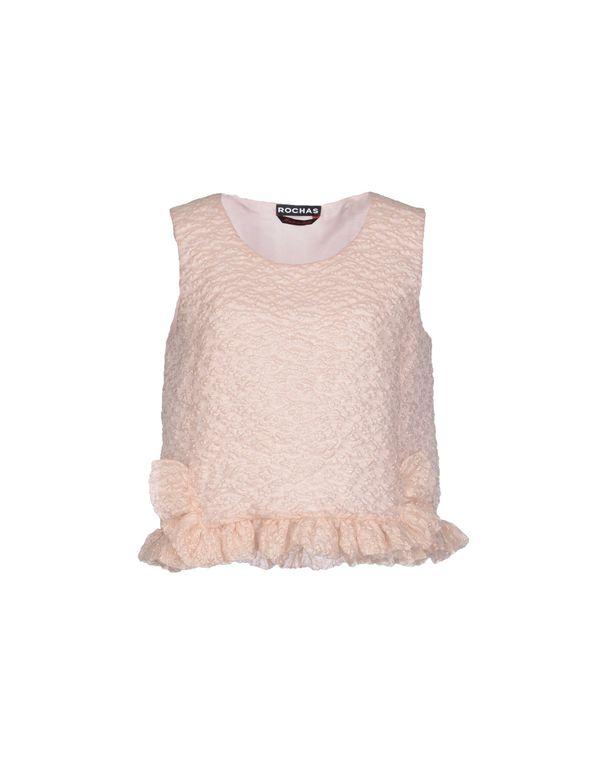 粉红色 ROCHAS 上衣