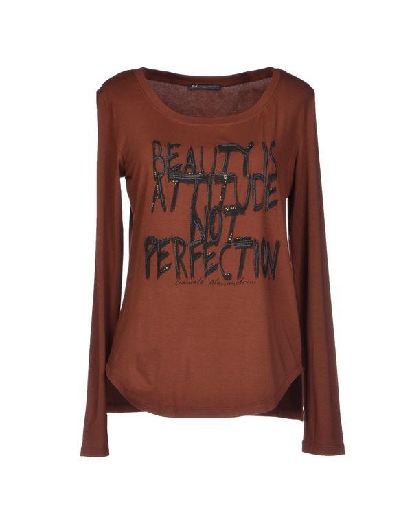 棕色 D.A. DANIELE ALESSANDRINI T-shirt
