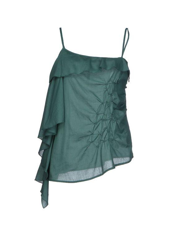 绿色 MANILA GRACE 上衣