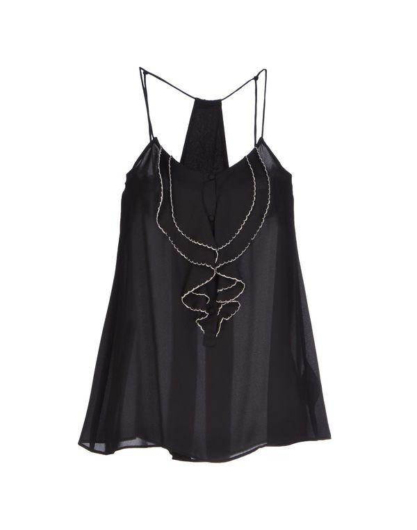 黑色 LIU •JO JEANS 上衣