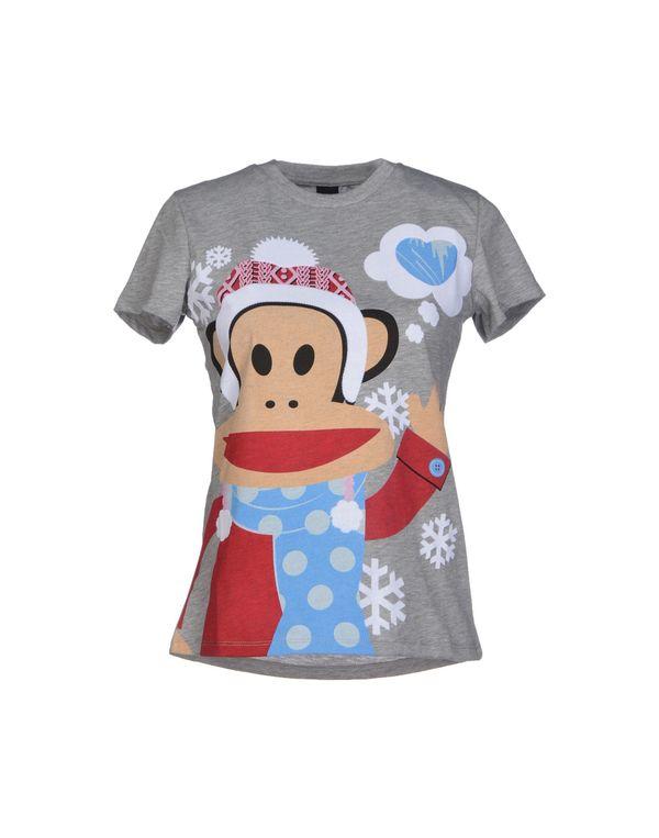 淡灰色 PAUL FRANK T-shirt