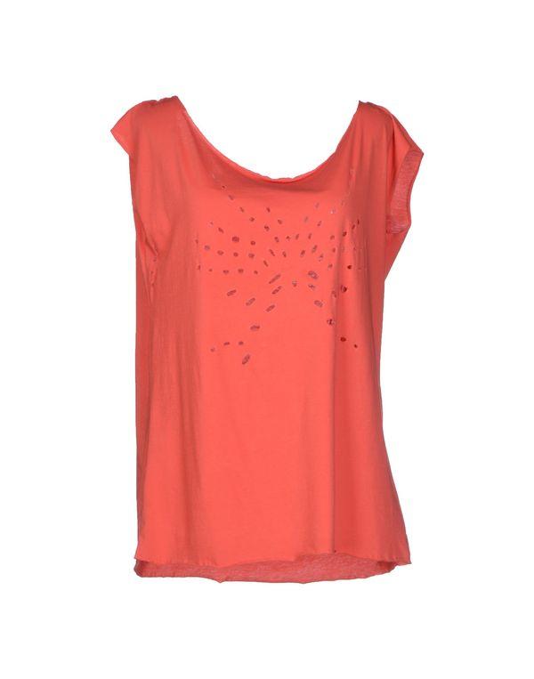 珊瑚红 40WEFT 上衣