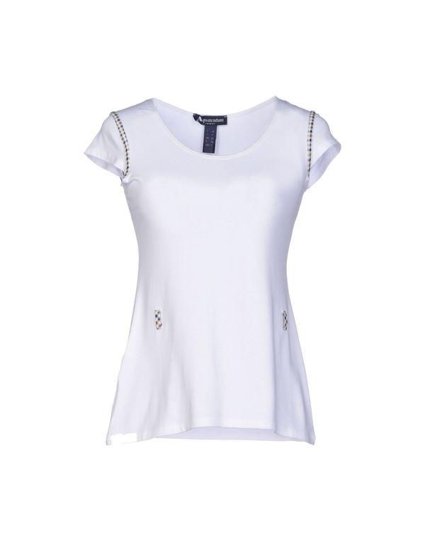 白色 AQUASCUTUM T-shirt