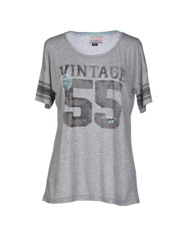 灰色 VINTAGE 55 T-shirt